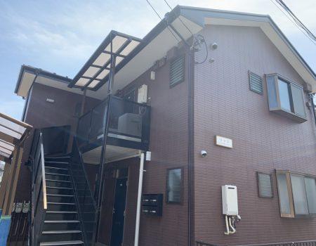 東京都杉並区U様邸アパート|外壁塗装、屋根塗装